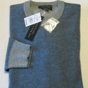Bloomingdales Crewneck Wool Cashmere Sweater M